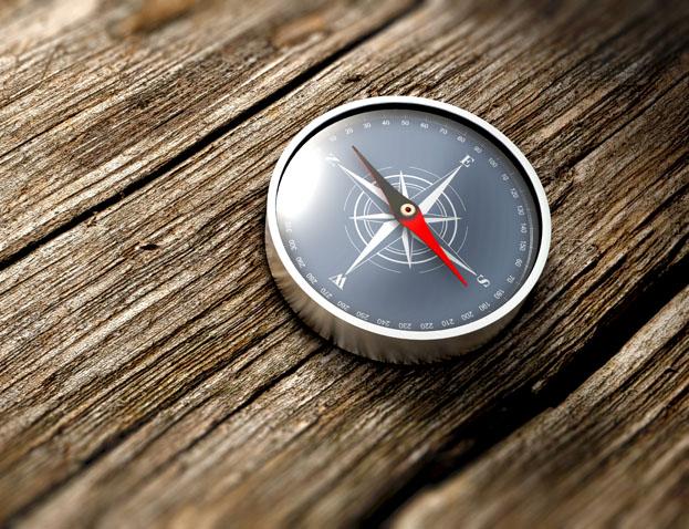 Systemisches Beratung - Ein Kmpass leitet den Weg